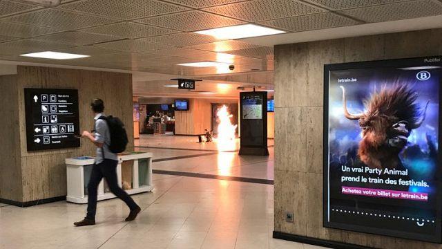 В Брюсселе застрелен предполагаемый смертник