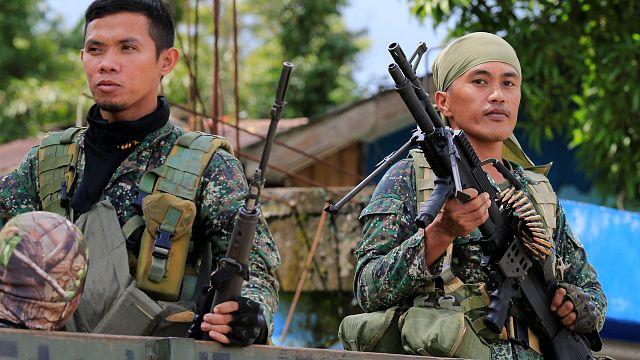 تحرير رهائن من أيدي مسلحين إسلاميين جنوب الفلبين