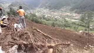 Effondrement de terrain meurtrier au Guatemala
