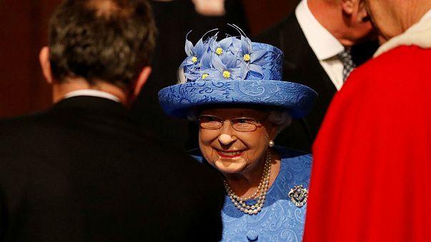 II. Erzsébet ismertette a brit kormány programját