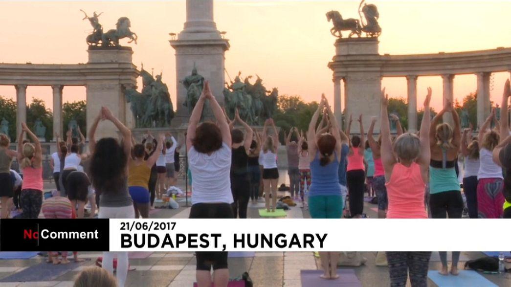 Ungheria: Giornata Mondiale dello Yoga