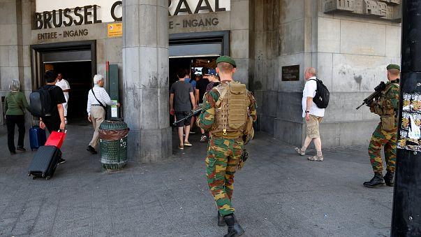 Identificado o autor da explosão na Estação Central de Bruxelas
