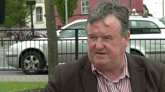 "Pat Treanor (Sinn Fein): ""A hard border would be devastating"""