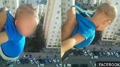 1000 Facebook 'likes' lands Algerian man in jail for dangling baby from window