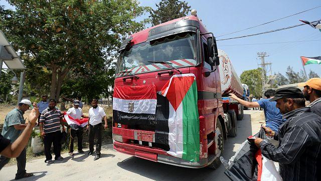 Egypt fuels Gaza to ease power crisis