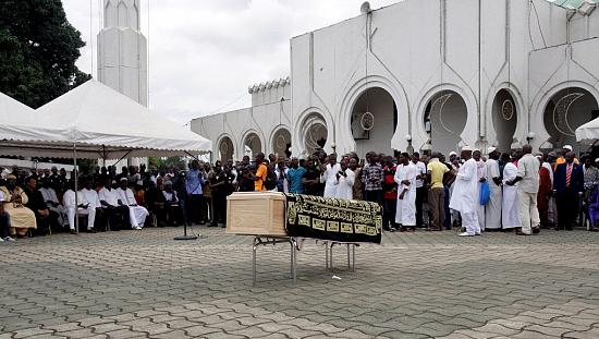Cheick Tiote buried in Abidjan [no comment]