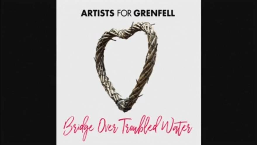 Stars rally for Grenfell Tower fire charity single