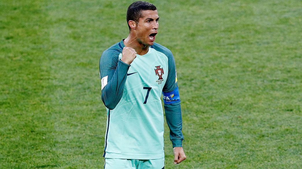 На Кубке конфедераций Россия уступила Португалии