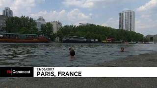 Canicule : le plongeon comme solution