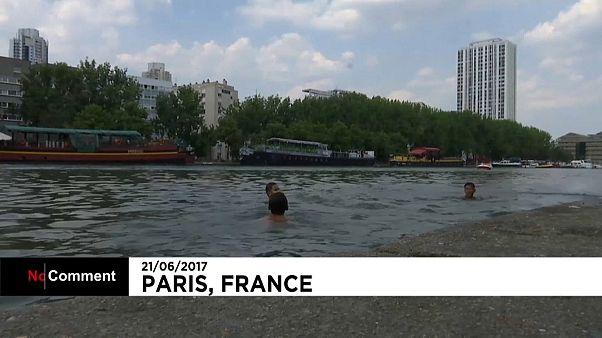Аномальная жара во Франции