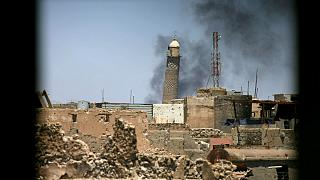 حیدر العبادی تخریب مسجد النوری را پایان کار داعش در موصل دانست