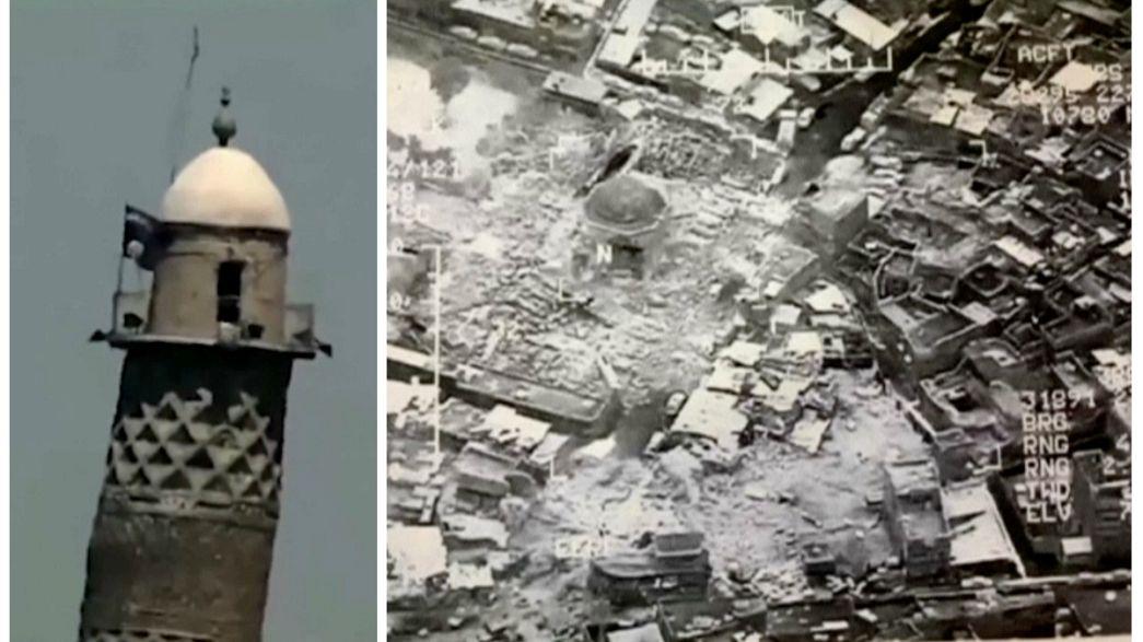 Sogenannter IS sprengt Moschee in Mossul