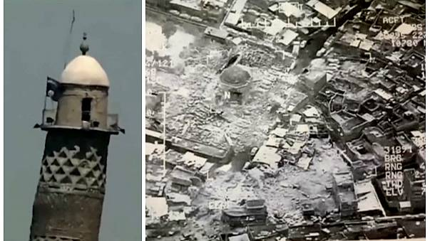 Mosul: iconic mosque 'blown up' by ISIL, says Iraq military