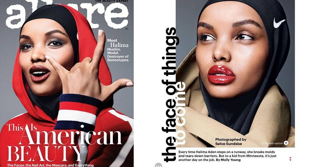 Somali Star Is First Hijab Wearing Model On Cover Of Top
