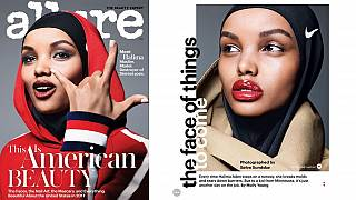 Somali star is first hijab-wearing model on the cover of top US magazine