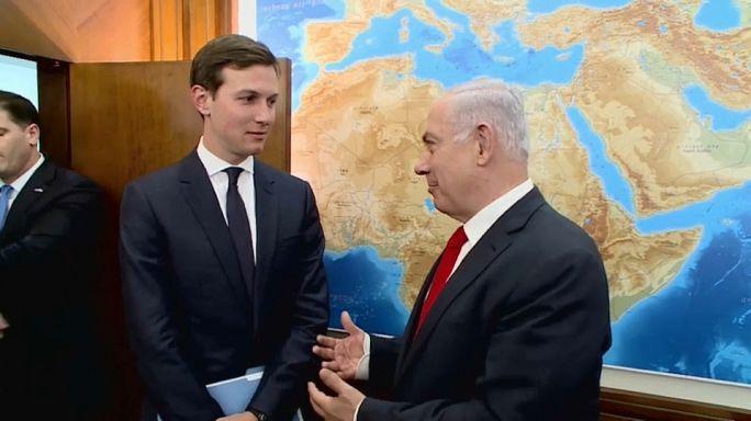 Kushner a Közel-Keleten járt