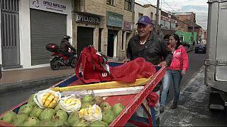 Венесуэльцы спасаются бегством