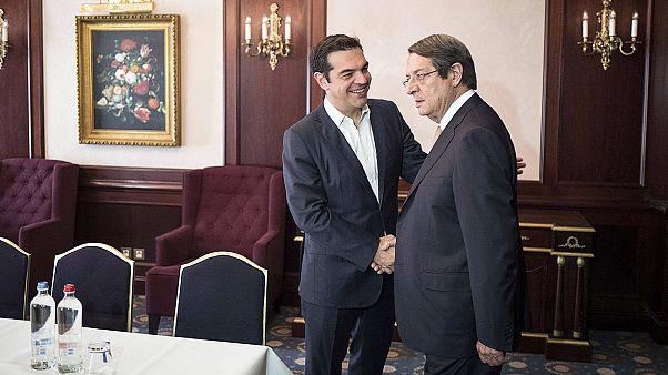 Κυπριακό: Οι συναντήσεις Αναστασιάδη με Τσίπρα, Μακρόν και Μέρκελ στις Βρυξέλλες