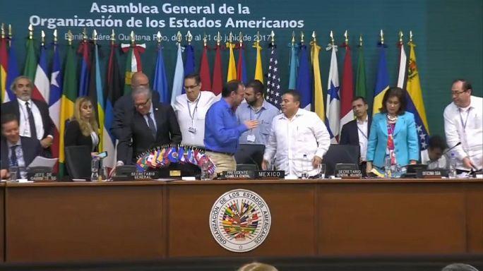 Venezuela evita condenação da OEA