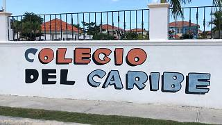 Image: The Colegio del Caribe private school where Hadmels DeFrias teaches
