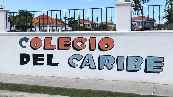 Image: The Colegio del Caribe private school where Hadmels DeFrias teaches