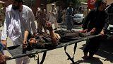 انفجار خودروی بمب گذاری شده در جنوب افغانستان دست کم سی کشته برجای گذاشت
