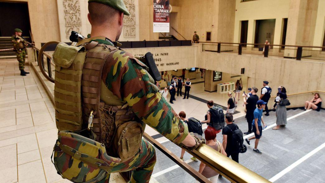 Vier Festnahmen nach versuchtem Bombenanschlag in Brüssel