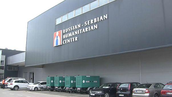 Dudas sobre Rusia por un centro en Serbia de ayuda humanitaria