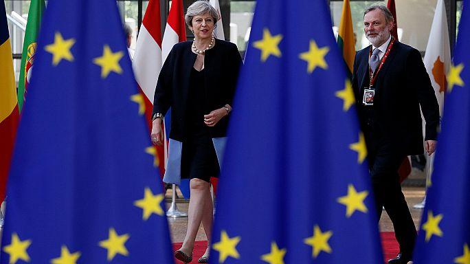 AB liderleri Brüksel'de Brexit'i masaya yatırıyor