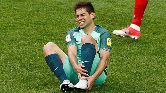 Portugal vence Rússia e fica com Raphaël Guerreiro em risco na Confederações