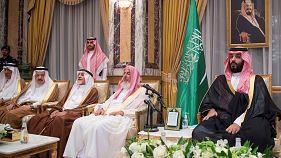 [شاهد] البيعة لولي العهد الجديد محمد بن سلمان في مكة