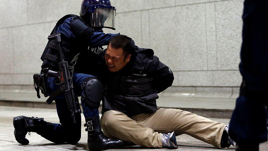 Japonya'da halka açık füze savunma tatbikatı