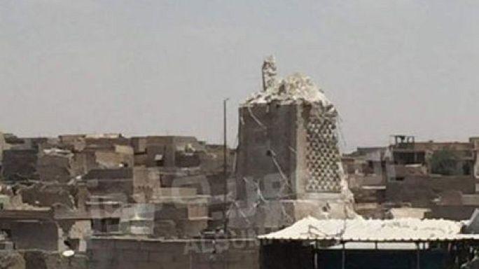 """Moschea distrutta a Mosul """"segnale di resa dell'Isil"""""""