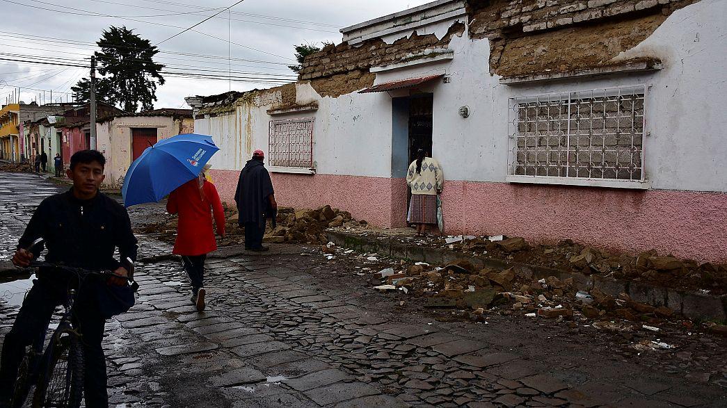 Schweres Erdbeben vor Guatemalas Küste