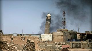 Video purports to show the destruction of Mosul's al-Nuri mosque