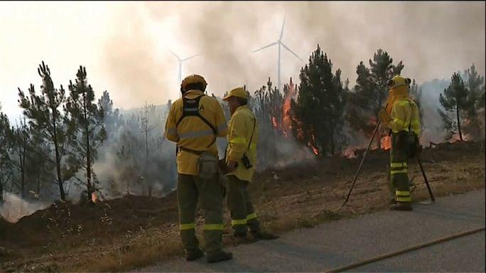 Tensa calma en Portugal tras el final de los incendios