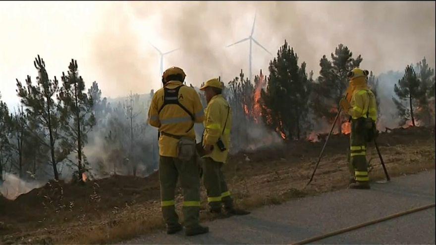 Португалия: пожар удалось победить