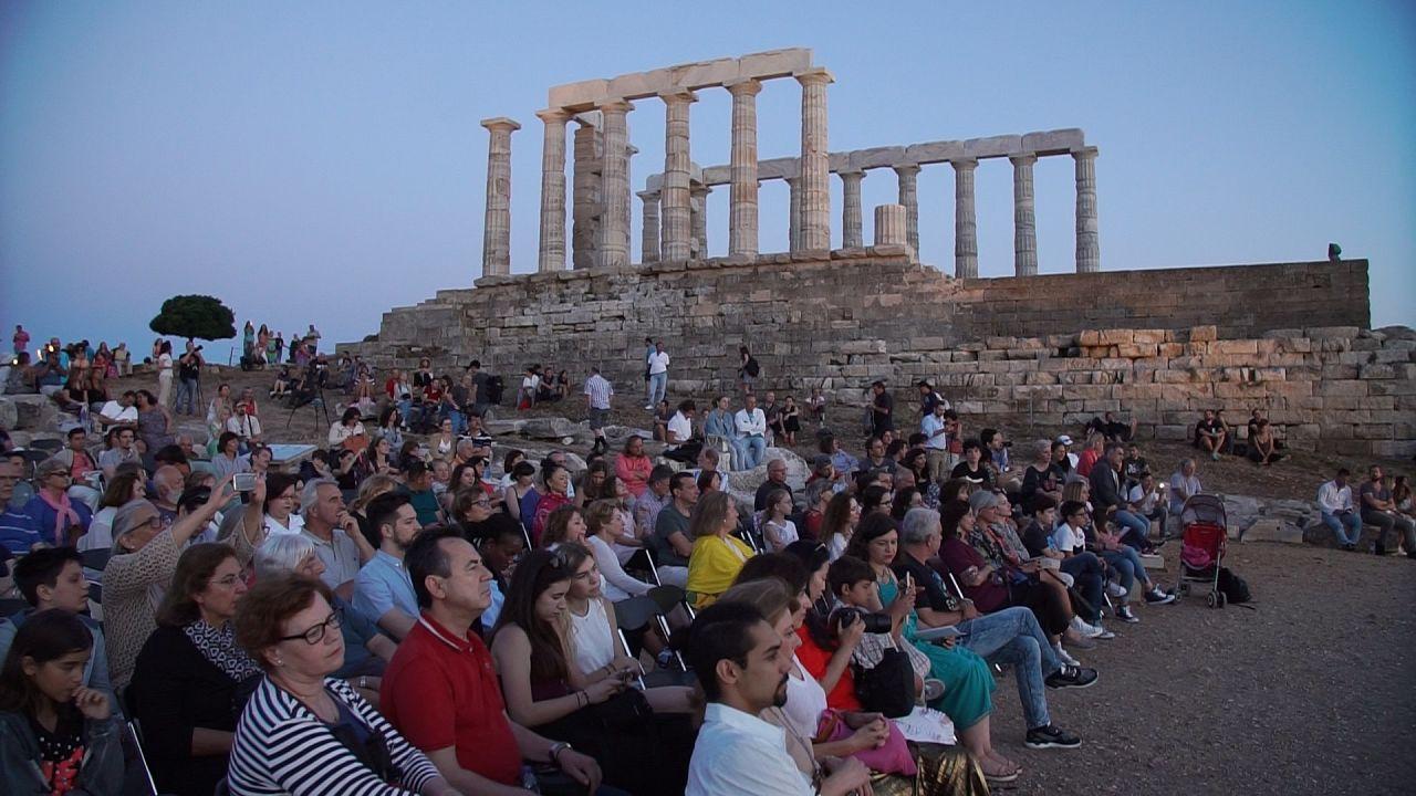 Σούνιο: Συναυλία στη «σκιά» του Ποσειδώνα