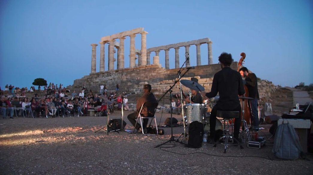 Europäischer Musiktag im Poseidon-Tempel