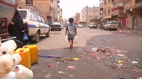 """الكوليرا في اليمن، """"كارثة من صنع الإنسان"""""""