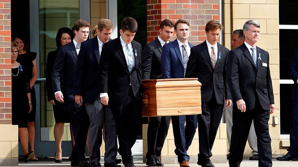 Отто Уормбир похоронен на родине в США после поездки в КНДР