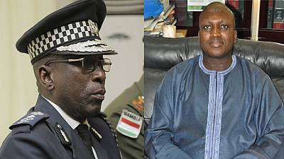 Gambian President Barrow replaces Jammeh-era police chief