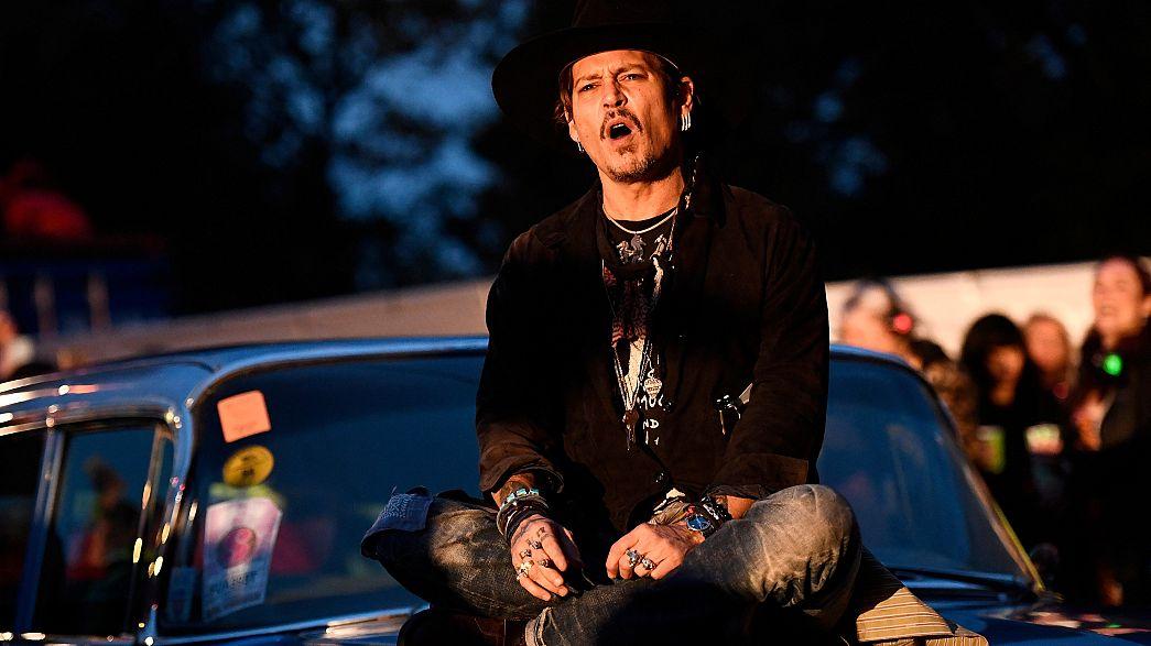 Quand Johnny Depp dérape sur Donald Trump