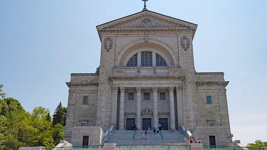 Saint Joseph Oratory Basilica church in Montreal. Building