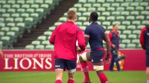 Lions to face All Blacks in Auckland