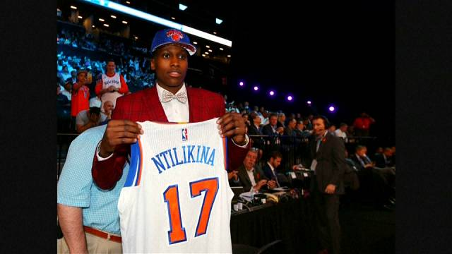 "Frank Ntilikina, le nouveau ""frenchy"" de la NBA"