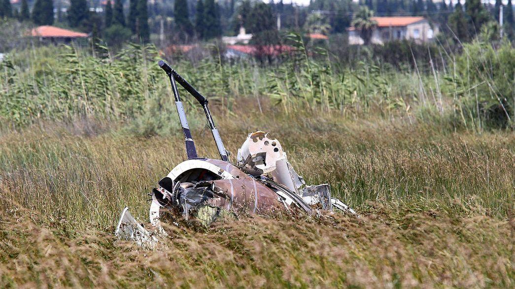 Lezuhant egy helikopter Görögországban