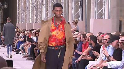 Louis Vuitton defies Paris heatwave with cool men's collection