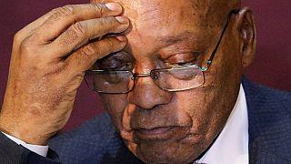 Jacob Zuma se moque des députés de l'opposition sur le vote secret