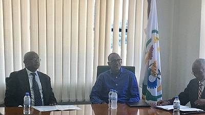 Rwanda's Kagame files candidature to contest for third term